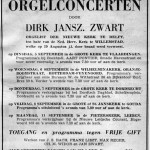 Advertentie orgelconcert